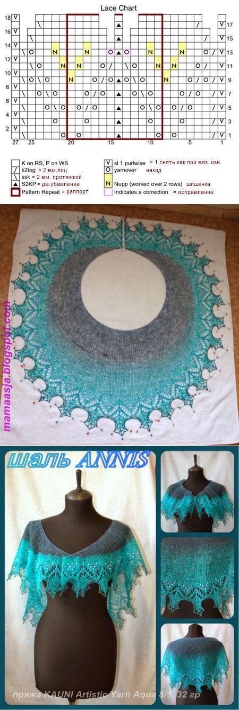 320 best шаль images on pinterest | lace knitting, knitting.