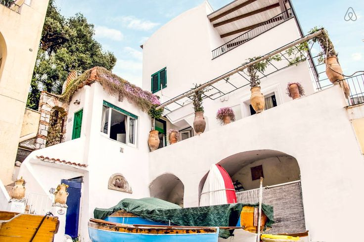 Check out this awesome listing on Airbnb: Capri-Fantastic House on the beach  - Houses for Rent