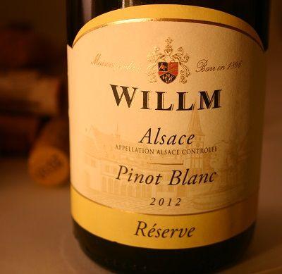 HIPPOVINO: Les vins de Pinot blanc, synonymes de fraîcheur - France - Alsace - vin blanc - Willm Pinot Blanc Réserve - Code SAQ 29983