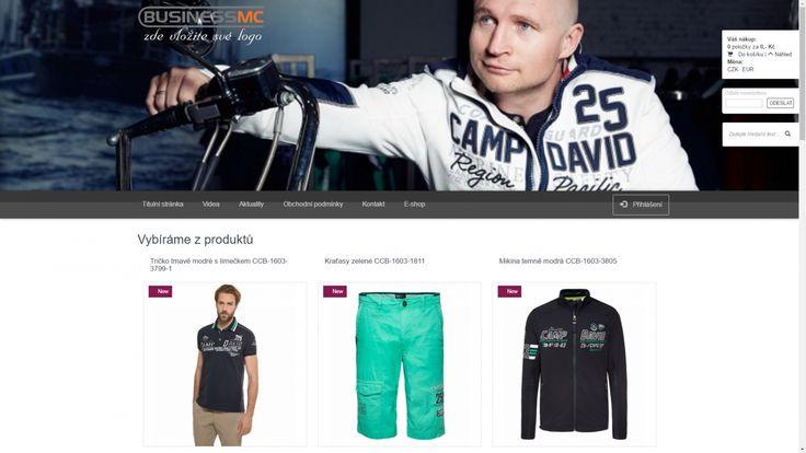 Pan Moravec, který již 20 let působí jako módní návrhář, se domluvil s firmou Camp David a začal prodávat tuto značku.