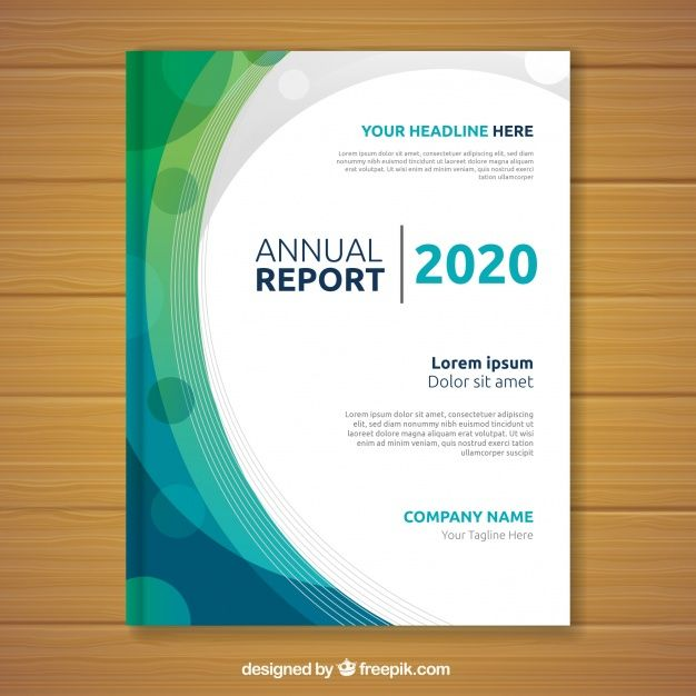 Abstract Annual Report Cover Annual Report Covers Annual Report Brochure Cover Design