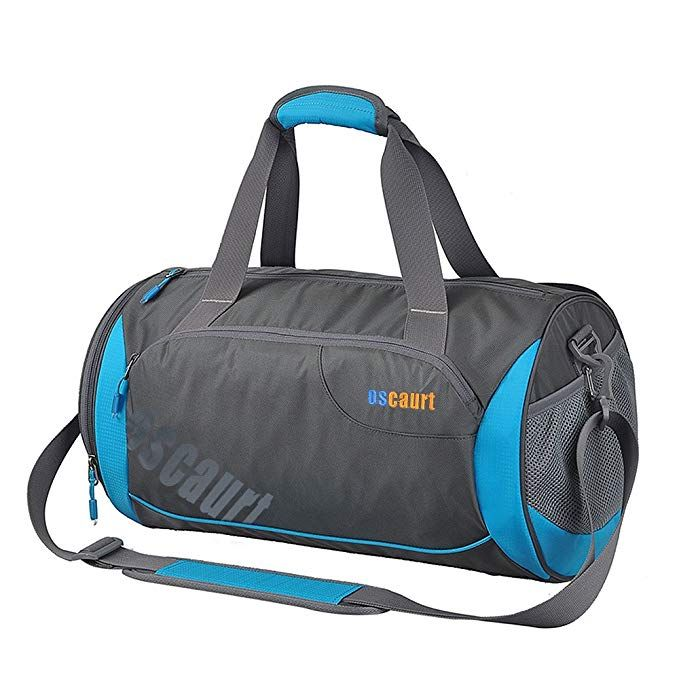 340ad3eae204a Oscaurt Gym Duffle Sport Bag with Large Ventilated Shoes Compartment ...