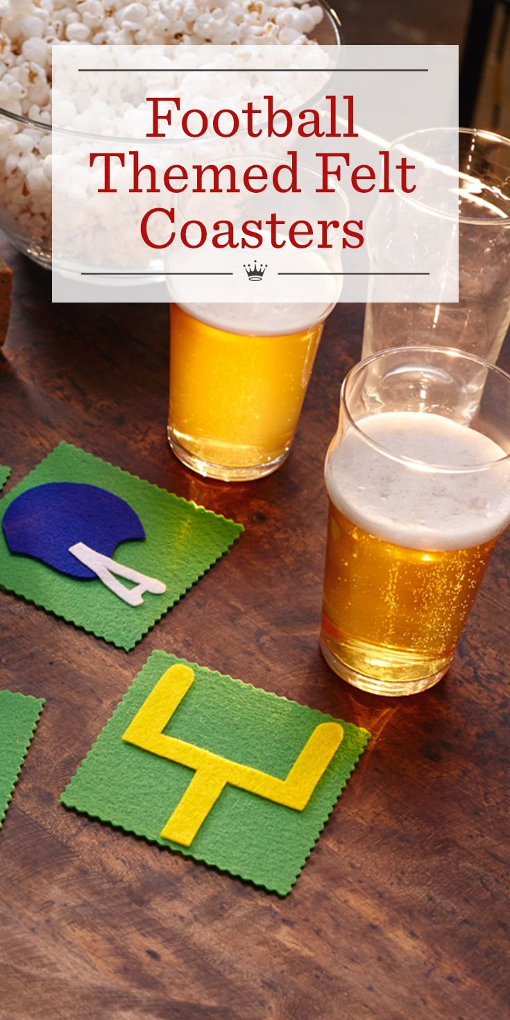 169 best game day images on pinterest football parties for Best coasters for sweaty drinks