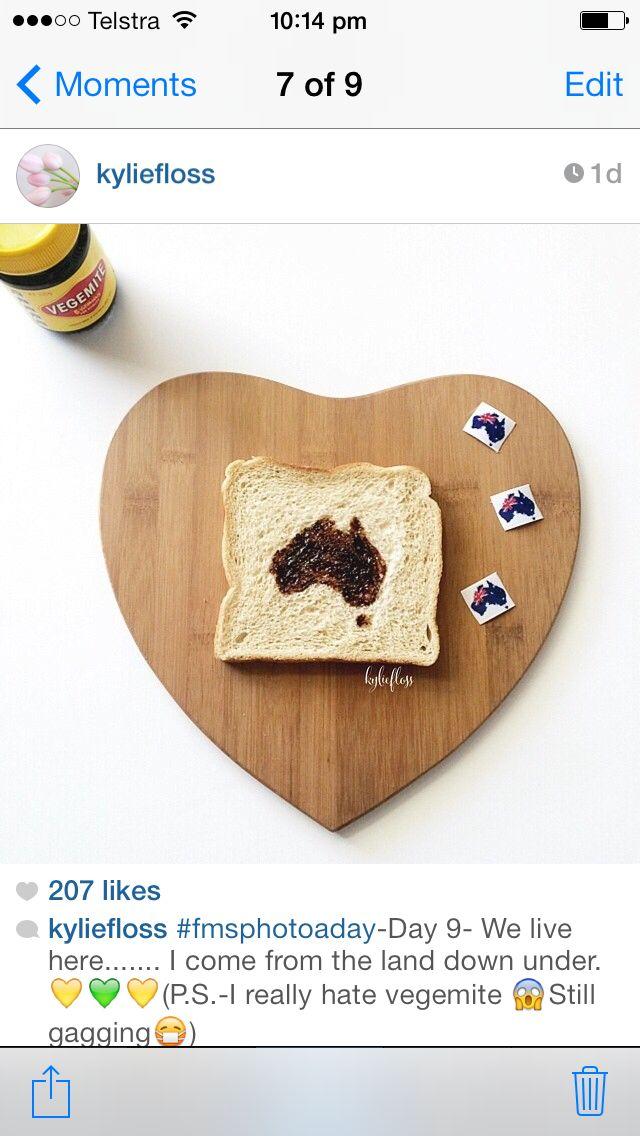 so cool a australia day vegemite sandwhich.