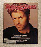#9: George Michael (Wham!)  Rolling Stone Magazine  #518  January 28 1988  MBL2-2