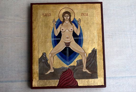 Red tent icon - The River of Life (Rzeka Życia)
