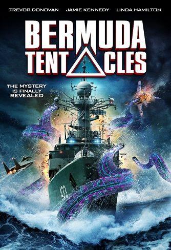 Bermuda tentacles (2014) FANTASCIENZA – DURATA 89′ – USA L'Air Force One, l'aereo presidenziale americano, precipita a causa di una tempesta nella zona del Triangolo delle Bermuda. La Marina degli Stati Uniti ha il compito di trovare la capsula di salvataggio che ospita il Presidente ma una gigantesca creatura tentacolare, che riemerge dal fondo dell'oceano, attacca i soccorritori…