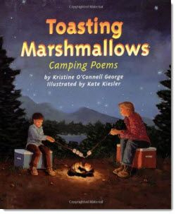Toasting Marshmallows: Camping Poems by Kristine O'Connell George - This is one of my favorite poetry books for kids. The poems are about simple experiences and any child who has ever been camping can relate to these poems. Brought back memories of my own family camping days! You can find a link to this book from my Poetry Page on Teaching Resources.