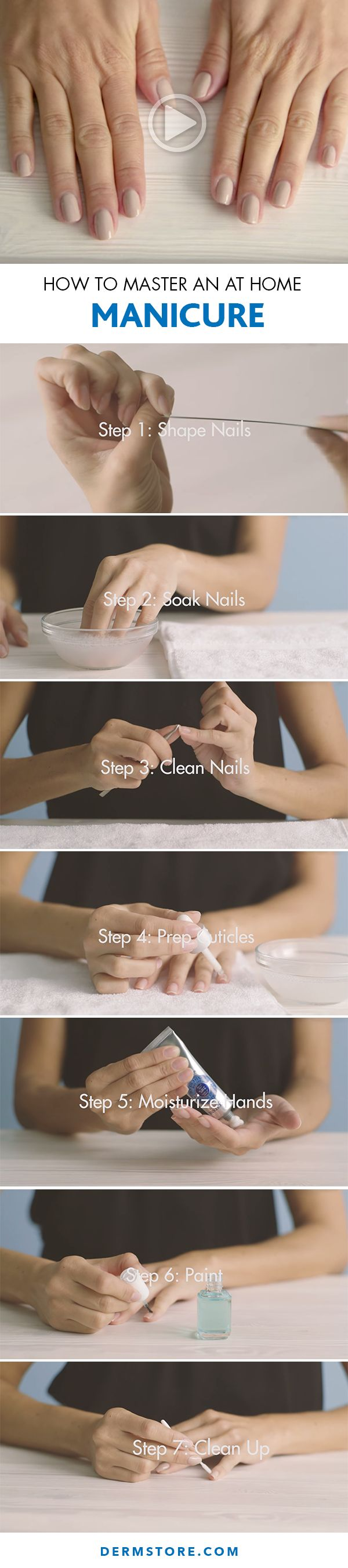 We love the look of a perfectly polished manicure, but we don't always love the price tag that goes along with it. Here, we'll show you how to master it at home.