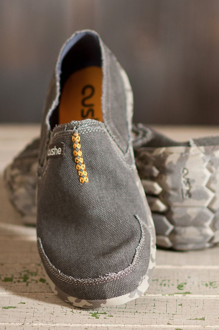 Men's Cushe Canvas Shoes | Overland Sheepskin