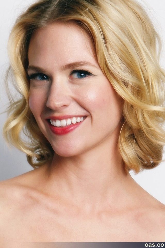 """January Jones as Andrea Byrne-Cheney in the """"Nice Girls"""" books.    I have described Andrea as a redheaded Grace Kelly.  There you go."""