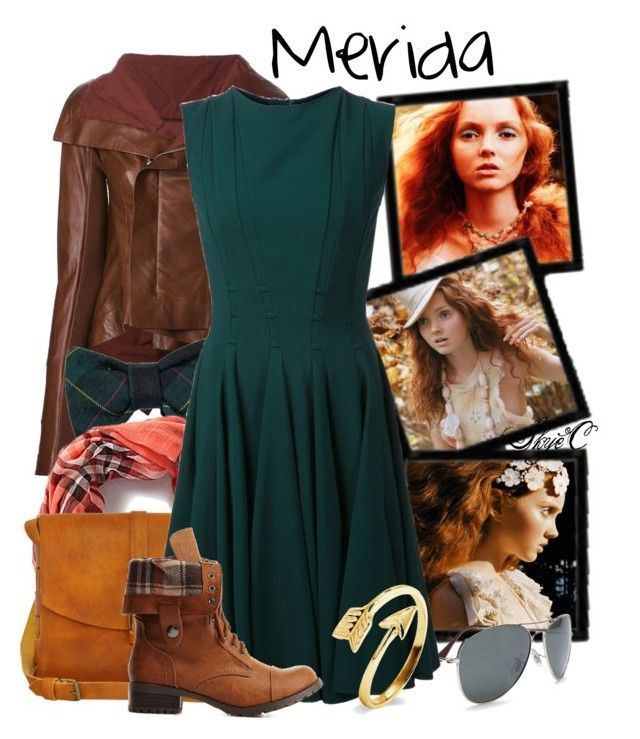 """Merida - Dreamcast: Lily Cole - Disney Pixar's Brave"" by rubytyra ❤ liked on Polyvore"