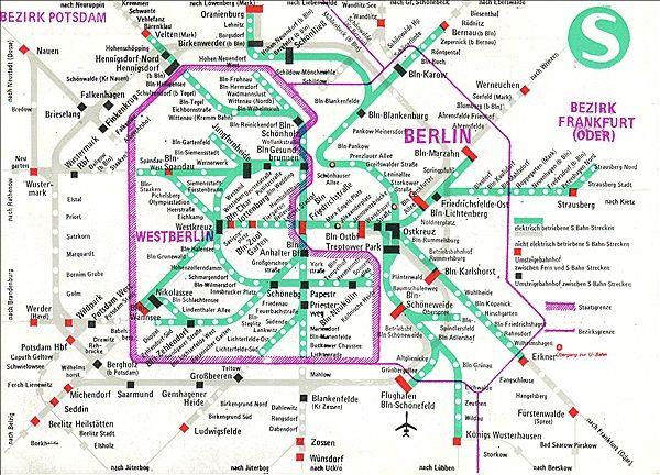 Lovely Beim Betrachten des S Bahn Plans von war an einen Ringverkehr nicht zu