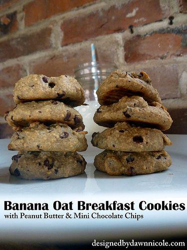 Banana Oat Breakfast Cookies | Diet | Pinterest ...