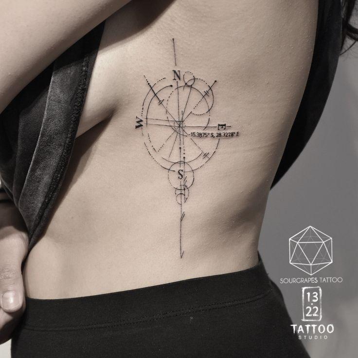 13.22 TATTOO STUDIO (London)  Custom Tattoo Artist Mr J.Best (sourgrapestattoo) www.1322tattoo.uk info@1322tattoo.uk Specializing from Fineline, Abstract, Blackwork to Geometry and Watercolour. #fineline #compass