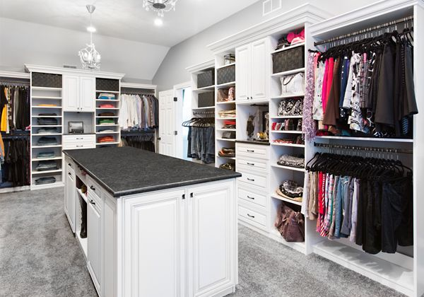 Walk In Closet Systems | Chicago Closets | Gallery - Walk In : Closet Organizing Systems
