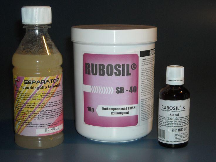 Kétkomponensű szilikon öntőanyag egyszerűbb szappan formákhoz