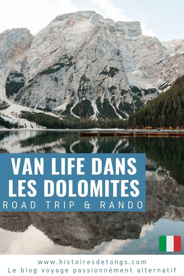 Road trip dans les Dolomites en van aménagé : mon itinéraire de 10 ...
