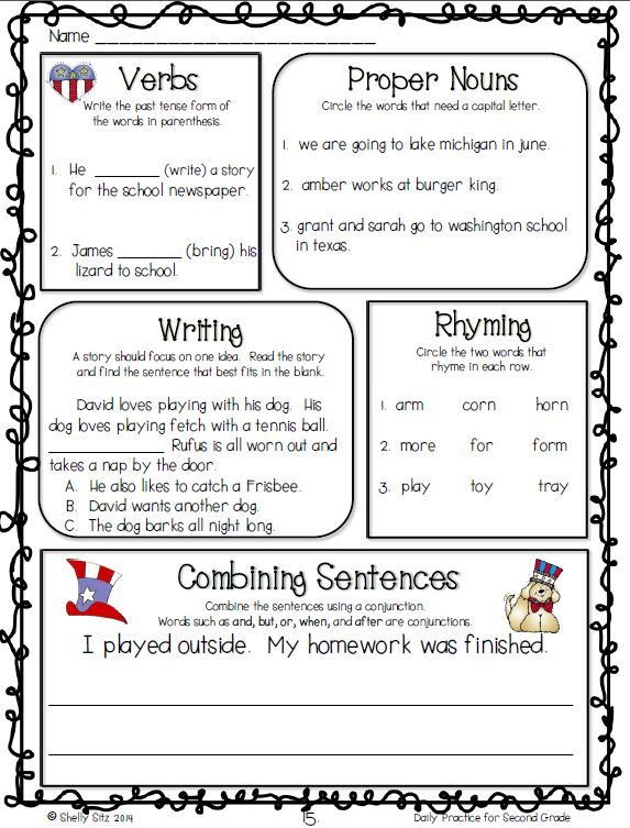 59 best Grammar and English Language Arts for 2nd Grade images on – Common Core Grammar Worksheets