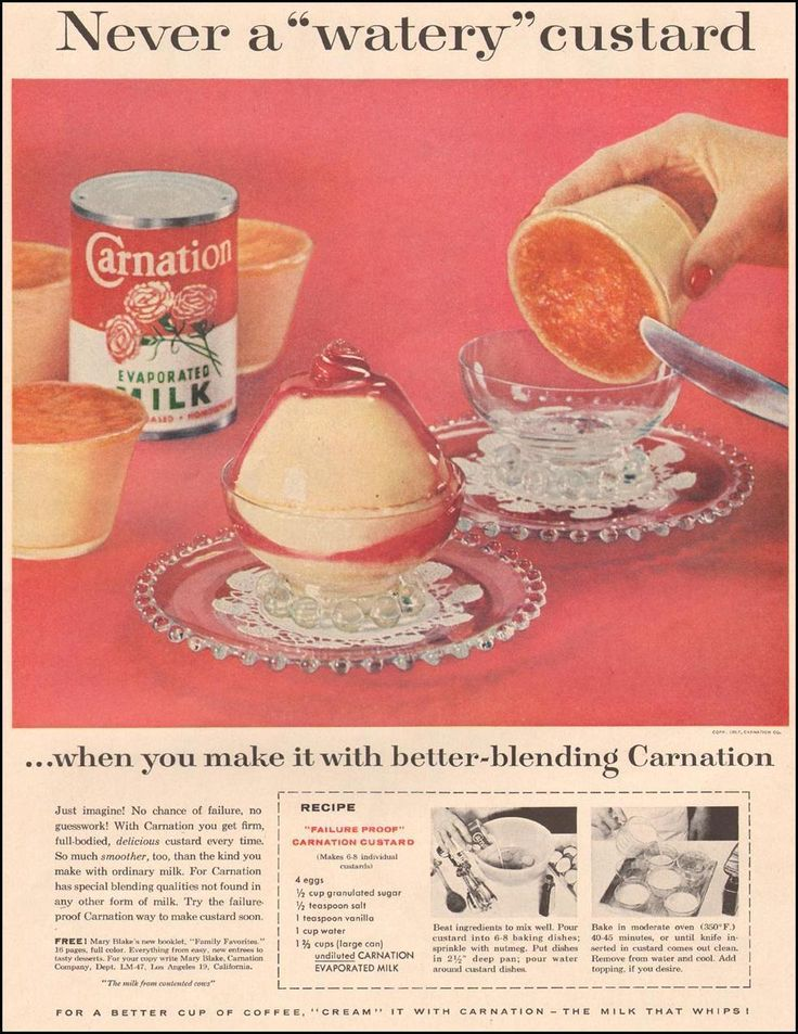 CARNATION EVAPORATED MILK LIFE 04/01/1957 p. 5http://www.pinterest.com/donnahyland/lord-have-mercy-foods/