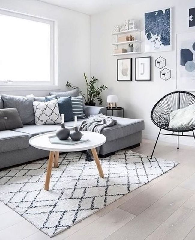 deco salon scandinave