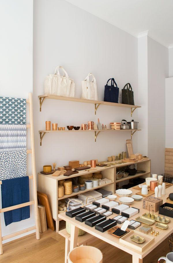 Japanese & Taiwanese homeware store, Native & Co, Notting Hill