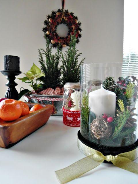 Christmas composition DIY; Kompozycja świąteczna