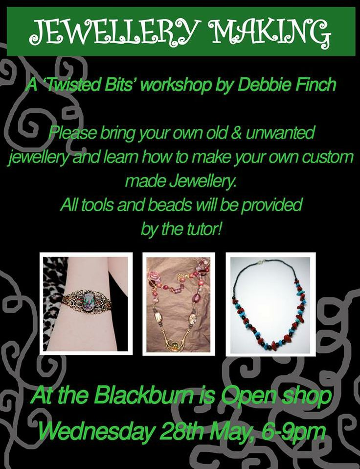 Jewellery Workshop run by Finch: Bespoke and Alternative Jewellery