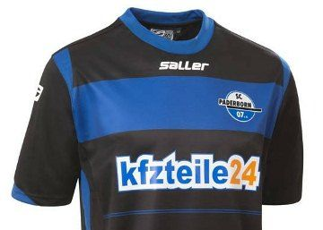 SC Paderborn 07 2014/15 Saller Home Kit