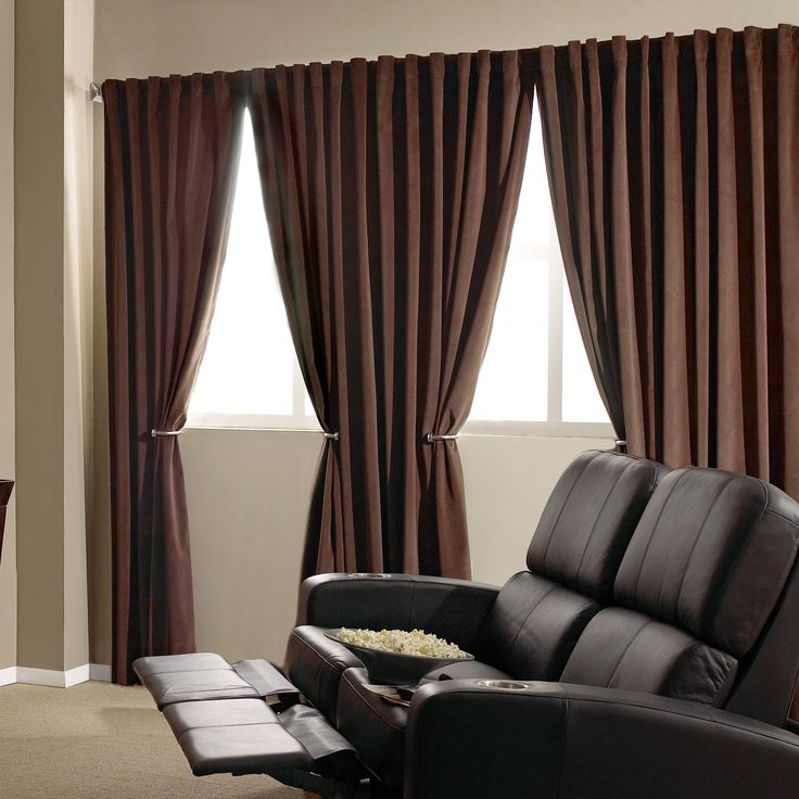 Absolute Zero Window Curtain | Curtains & Drapes | Brylanehome ...