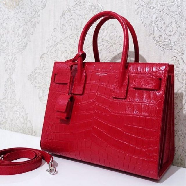 New YSL SDJ Baby in Red Croco StampOnly 25jtWith receipthttps://www.instagram.com/authenticnlimited/WA / LINE : 0813 30772818