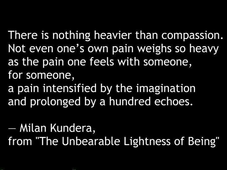 a literary analysis of the unbearable lightness of being by milan kundera Kundera's later novel, the unbearable lightness of being, on the other hand, is motivated by an entirely different relationship of irony to kitsch the kitsch in this novel is stable, local, and, perhaps most importantly, overt.