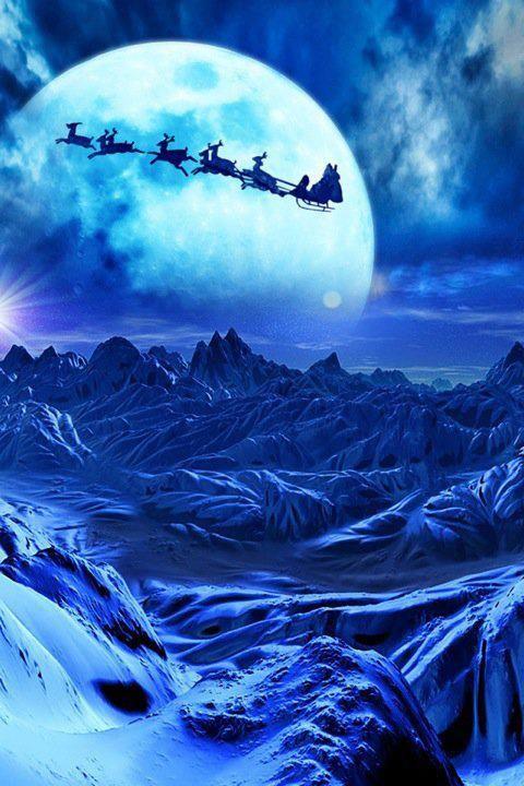 Santa Heading Home