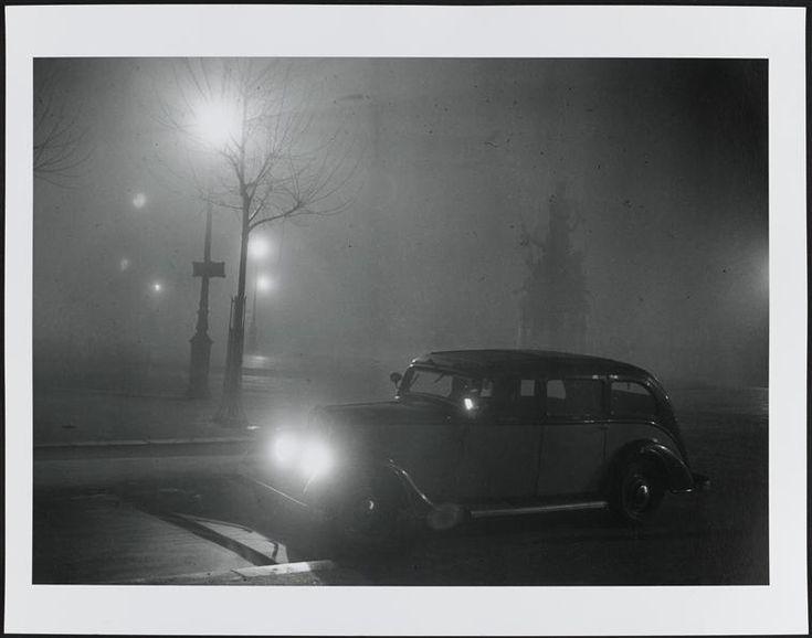Le taxi de Léon-Paul Fargue, 1933, Brassaï