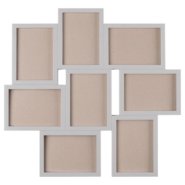 M s de 20 ideas incre bles sobre marcos para varias fotos - Plantillas pared ikea ...