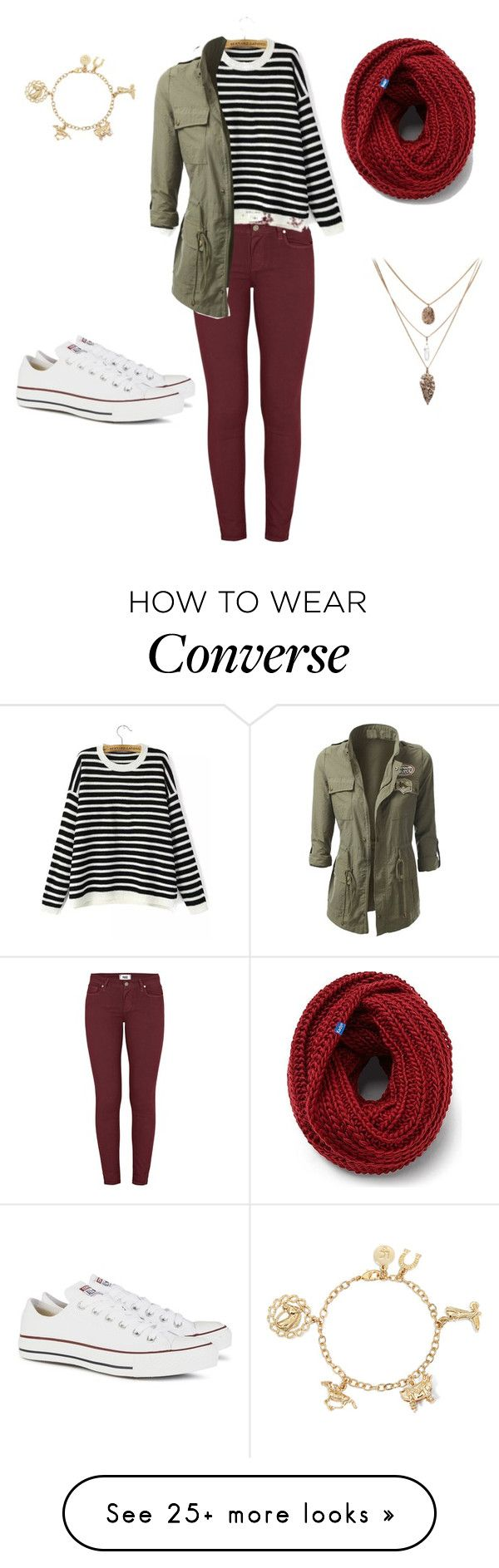 """""""#072"""" by avafields02 on Polyvore featuring Paige Denim, Converse and Keds"""