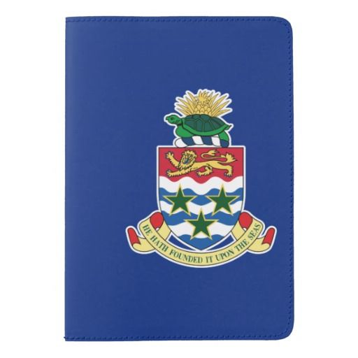 Cayman Islander flag Passport Holder