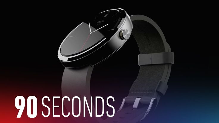 Google unveils Android Wear, Motorola teases Moto 360: 90 Seconds on The...