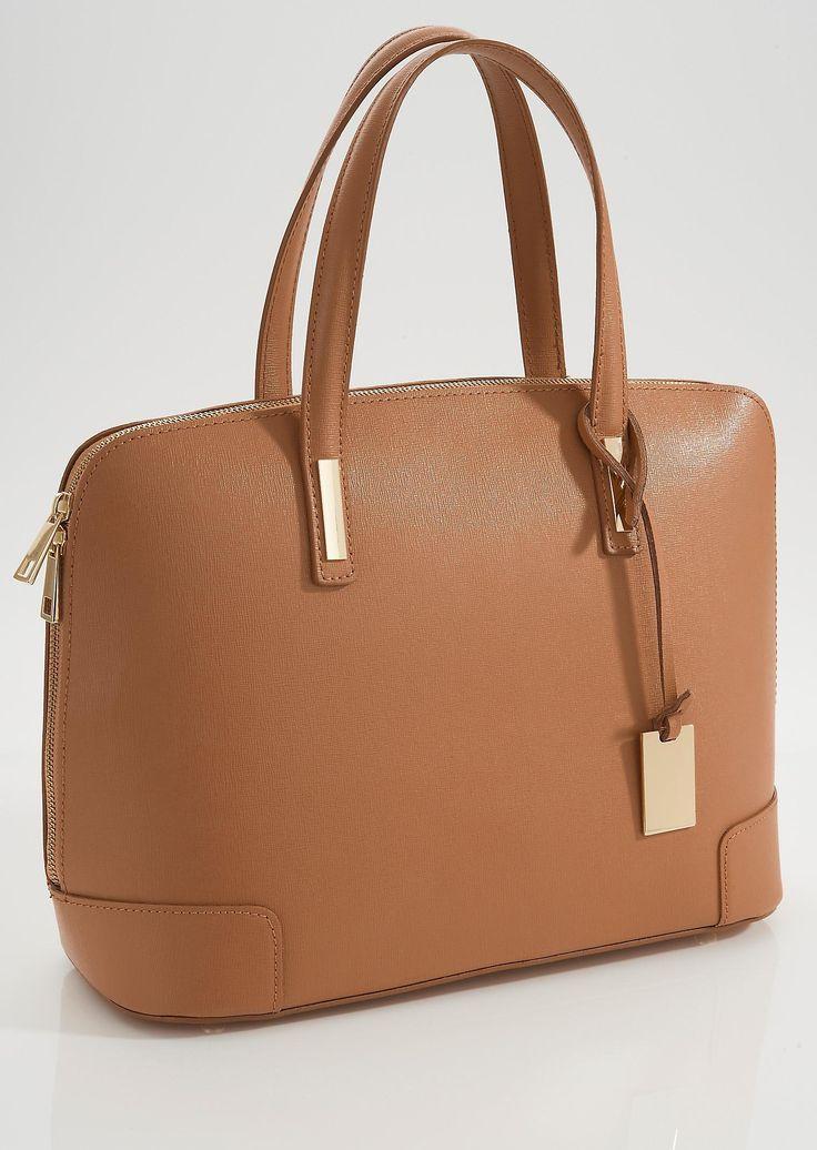 #Handtasche in nougat-braun aus echtem Leder ©Atelier Goldner Schnitt | www.ateliergs.at