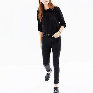 Madewell, High Riser Skinny Skinny Jeans in Lunar #GIFTWELL
