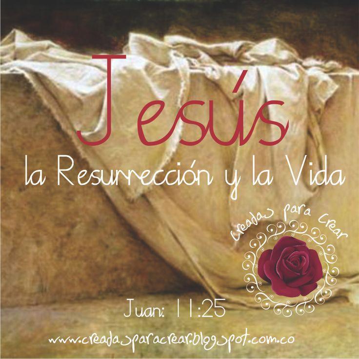 No vivas como si nuestro salvador se hubiera quedado en la Cruz, por que la gran noticia y nuestra gran comisión es anunciar que CRISTO RESUCITO y venció la muerte para que tu viéramos su Vida en nosotros!