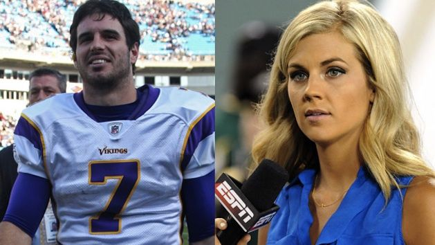 Vikings QB Christian Ponder and ESPN's Samantha Steele Are Now Engaged