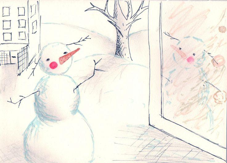 snowman, blush