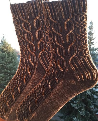 Ravelry: Undiscovered Country pattern by Claire Ellen