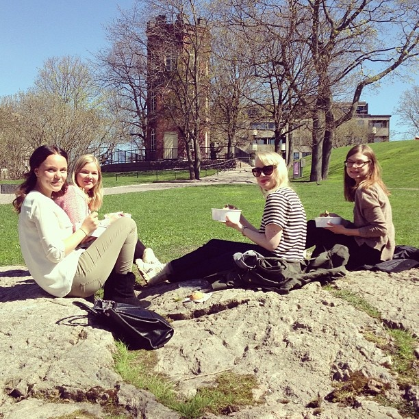 First lunch picnic of summer 2013 <3