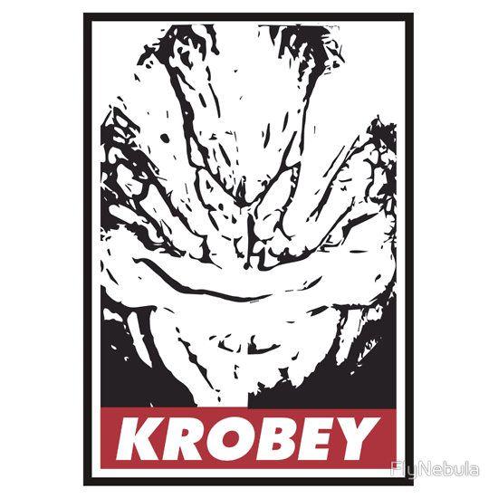 Krobey.  #Obey #Krogan #MassEffect #Grunt #Wrex