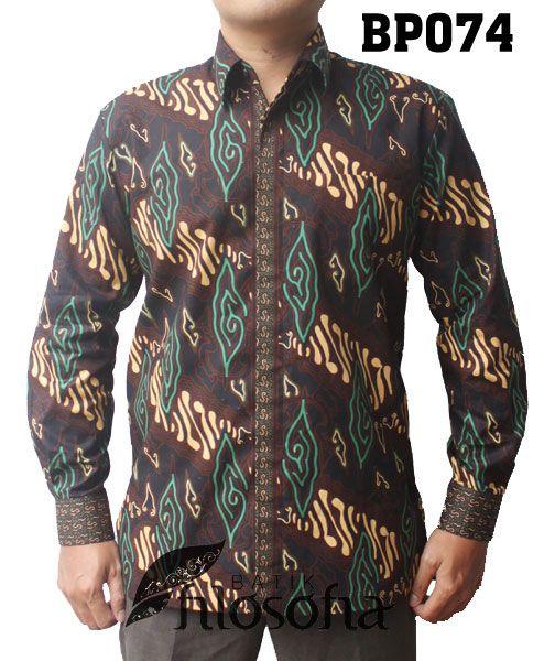 - Kode BP074 – Batik printing – Bahan katun – Full puring dormeuil england – Jahitan standar butik – Tersedia berbagai ukuran – Harga Rp.250.000