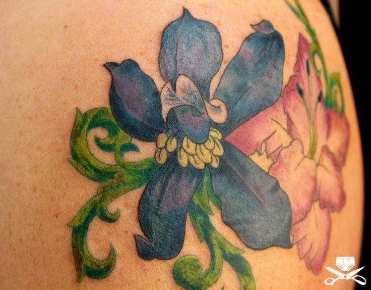best 25 larkspur flower tattoos ideas on pinterest. Black Bedroom Furniture Sets. Home Design Ideas