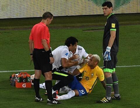Ney no momento do seu atendimento ⚽ #neymar #neymarjr #eliminatorias #seleçãobrasileira #BraxBol