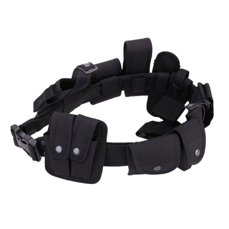 Sizet Black Law enforcement modular equipment system security tactical duty utility belt -- Awesome products selected by Anna Churchill